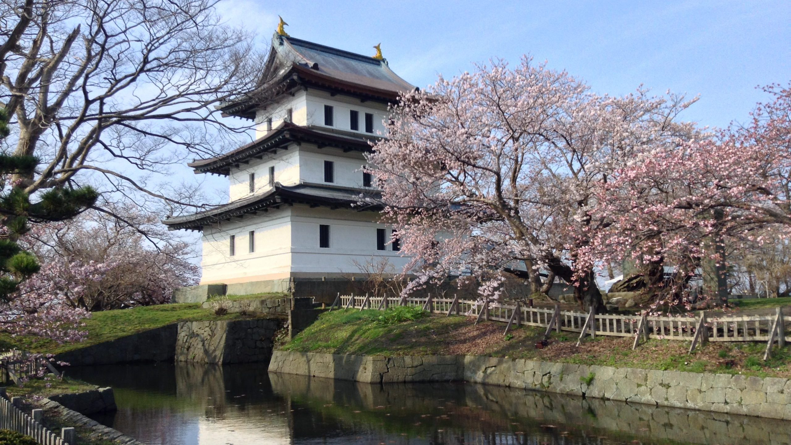 Matsumae Castle and Temple Town