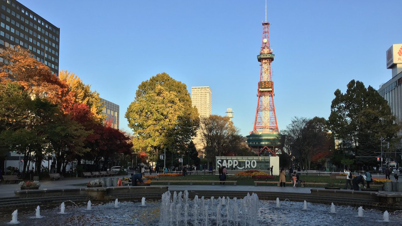 Odori Park and Varied Festivals