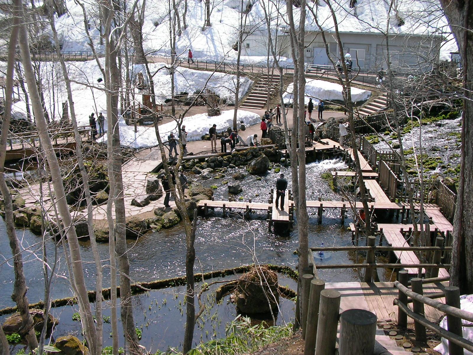 Mineral Water Park in Kyogoku