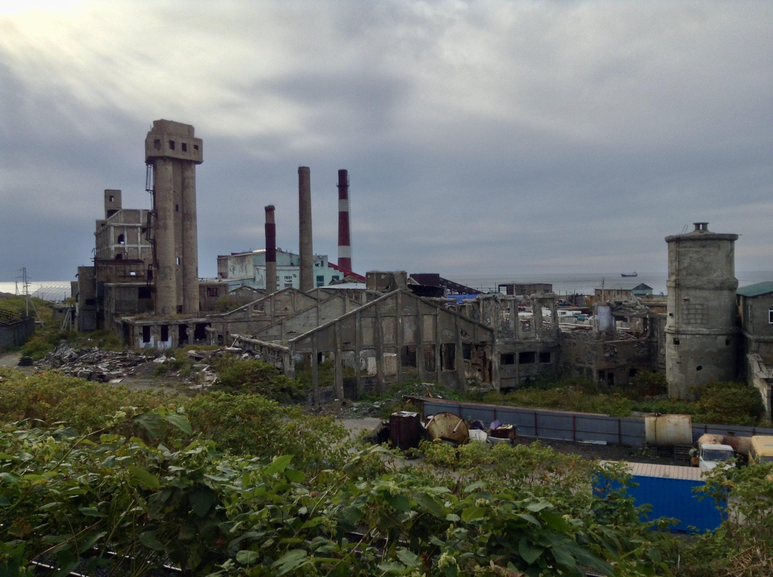 ホルムスクと日本の歴史遺産