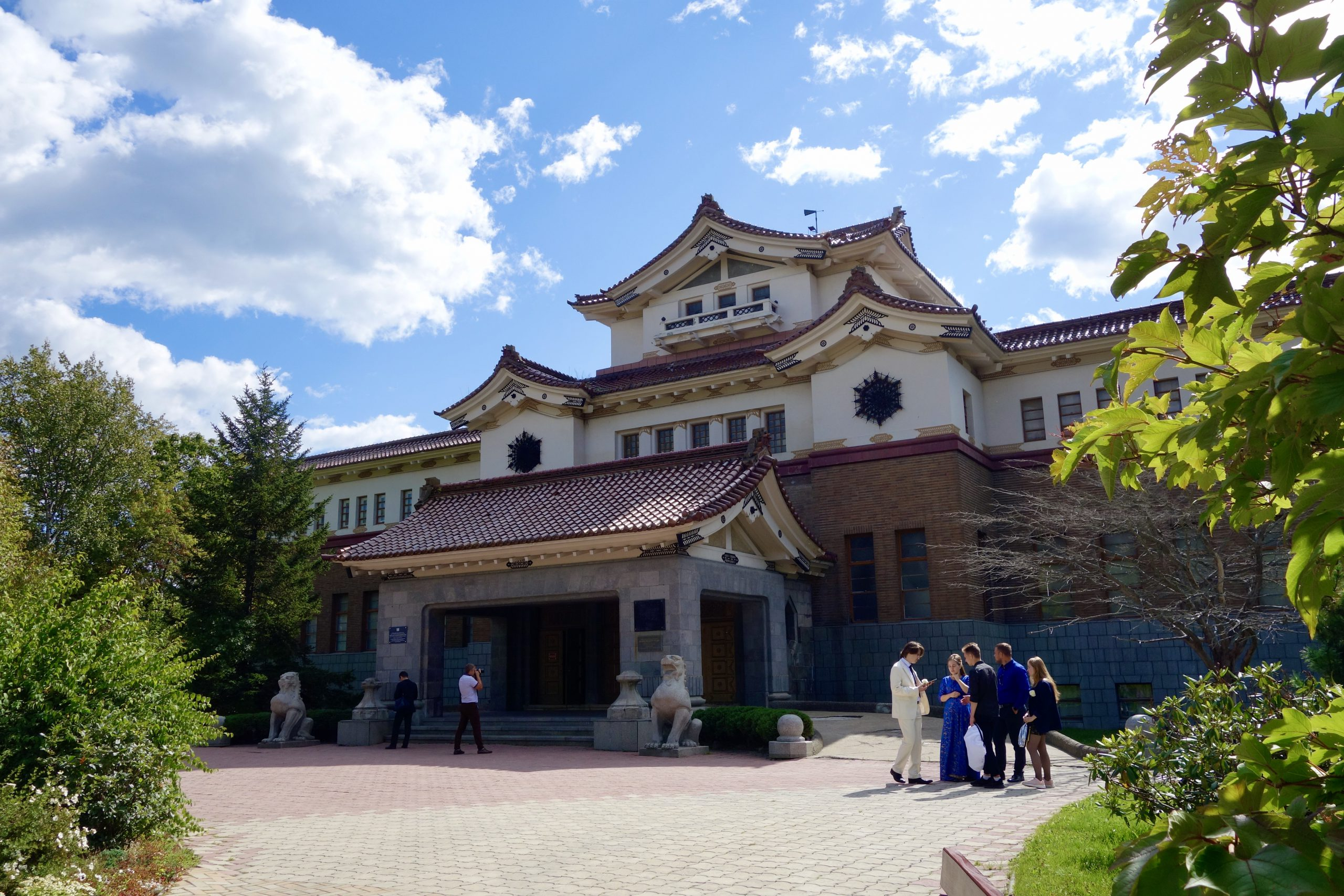 ユジノサハリンスクと日本の歴史遺産