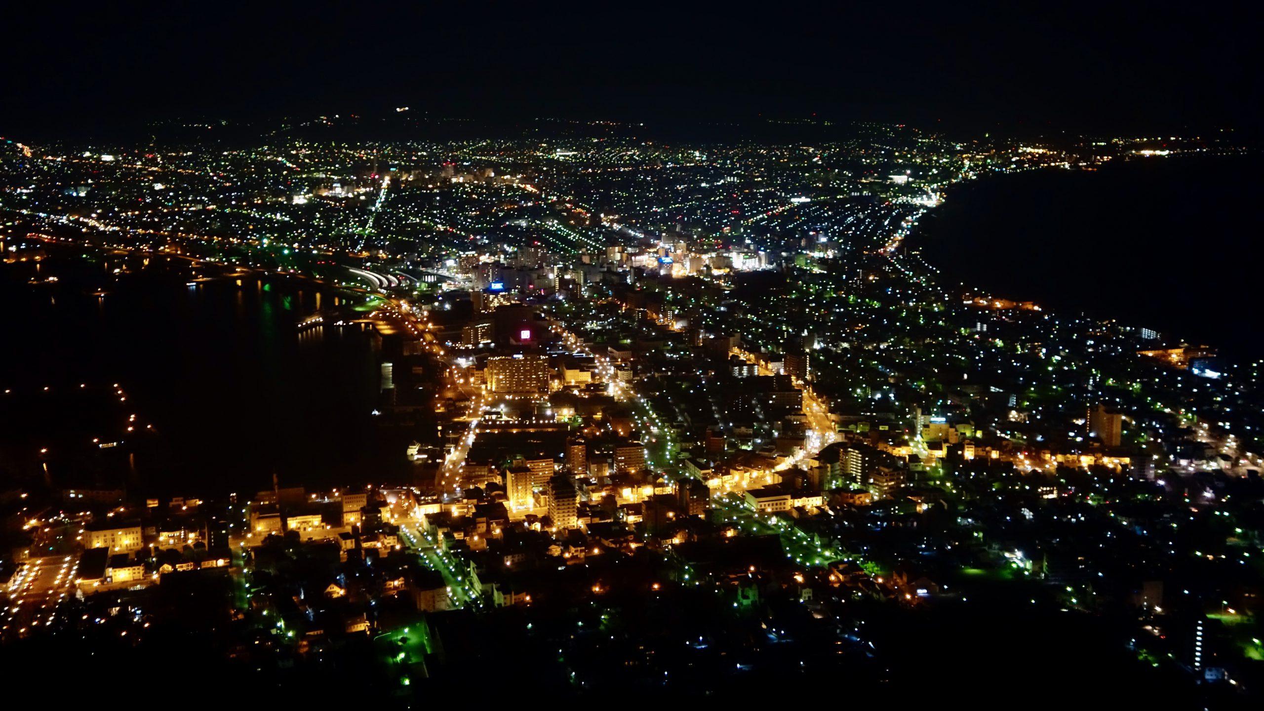 Night View from Hakodate-yama