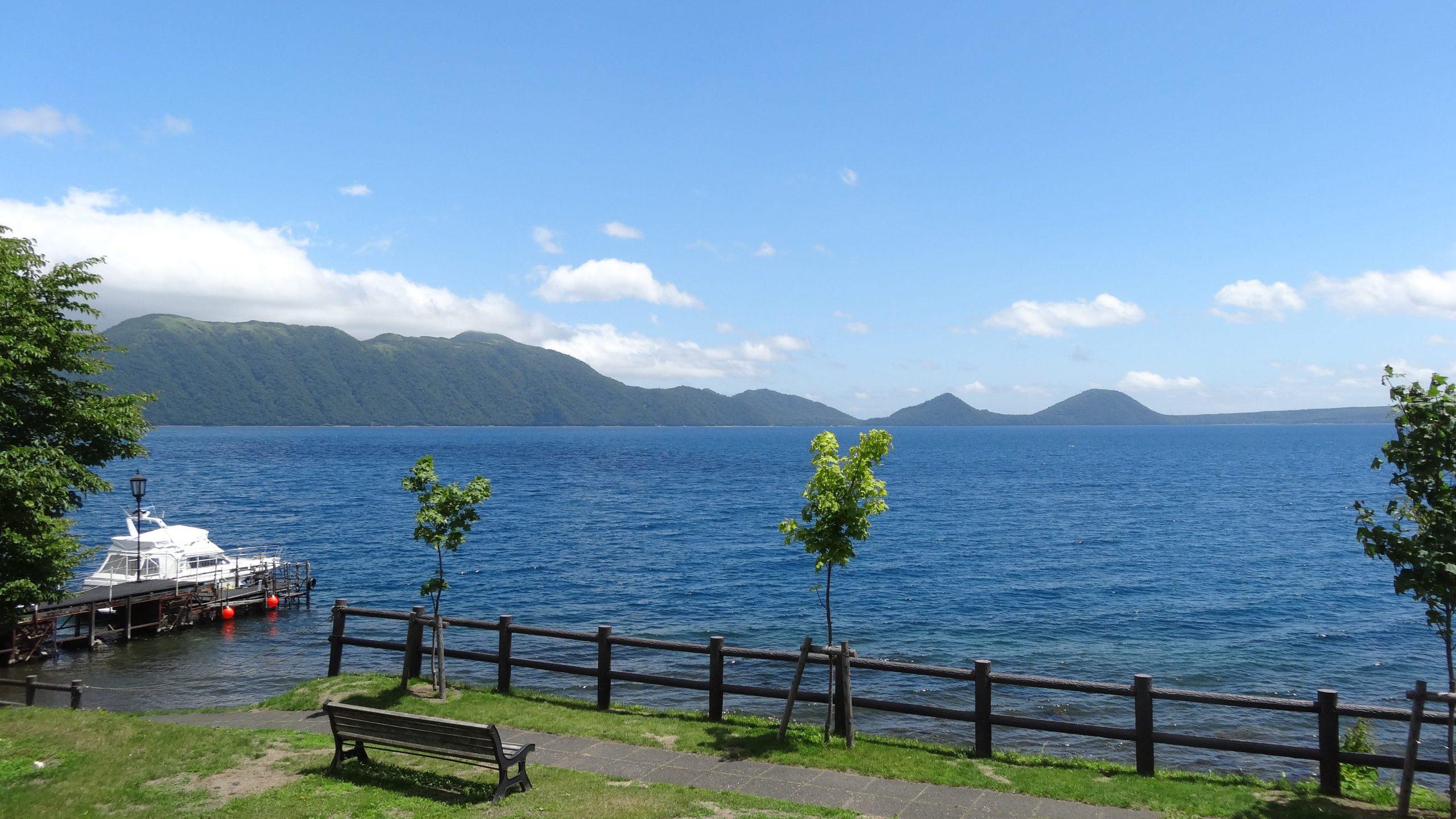 Marukoma Onsen on the Lake Shikotsu