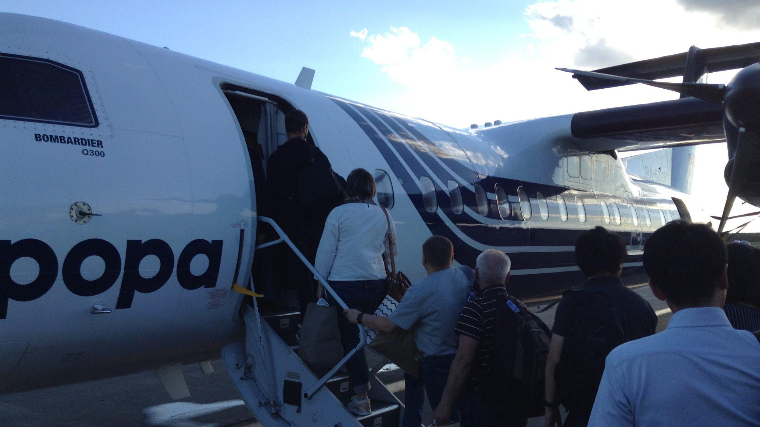 オーロラ航空 新千歳サハリン搭乗記