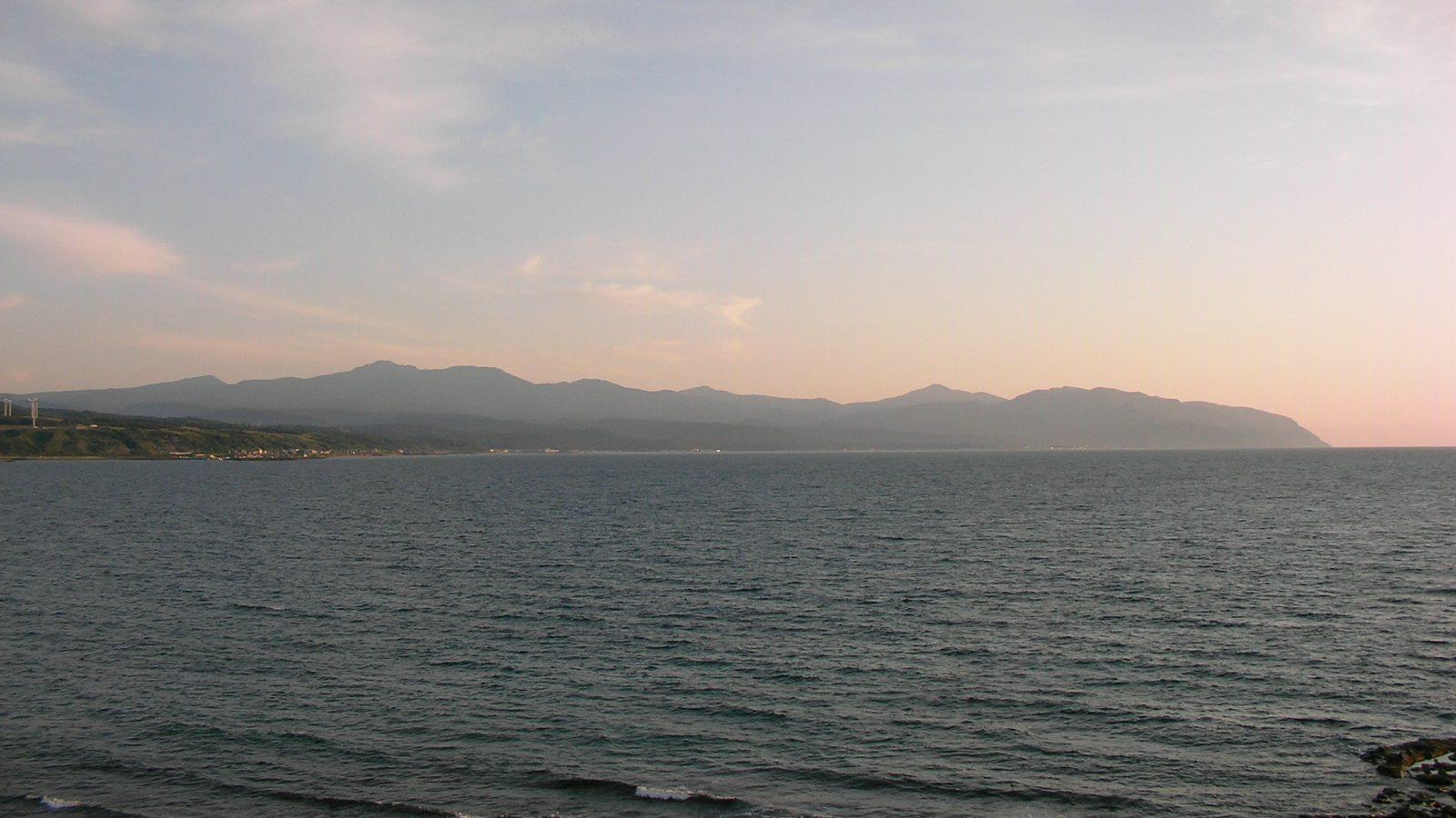 Rumoi 'Golden' Beach and Cape