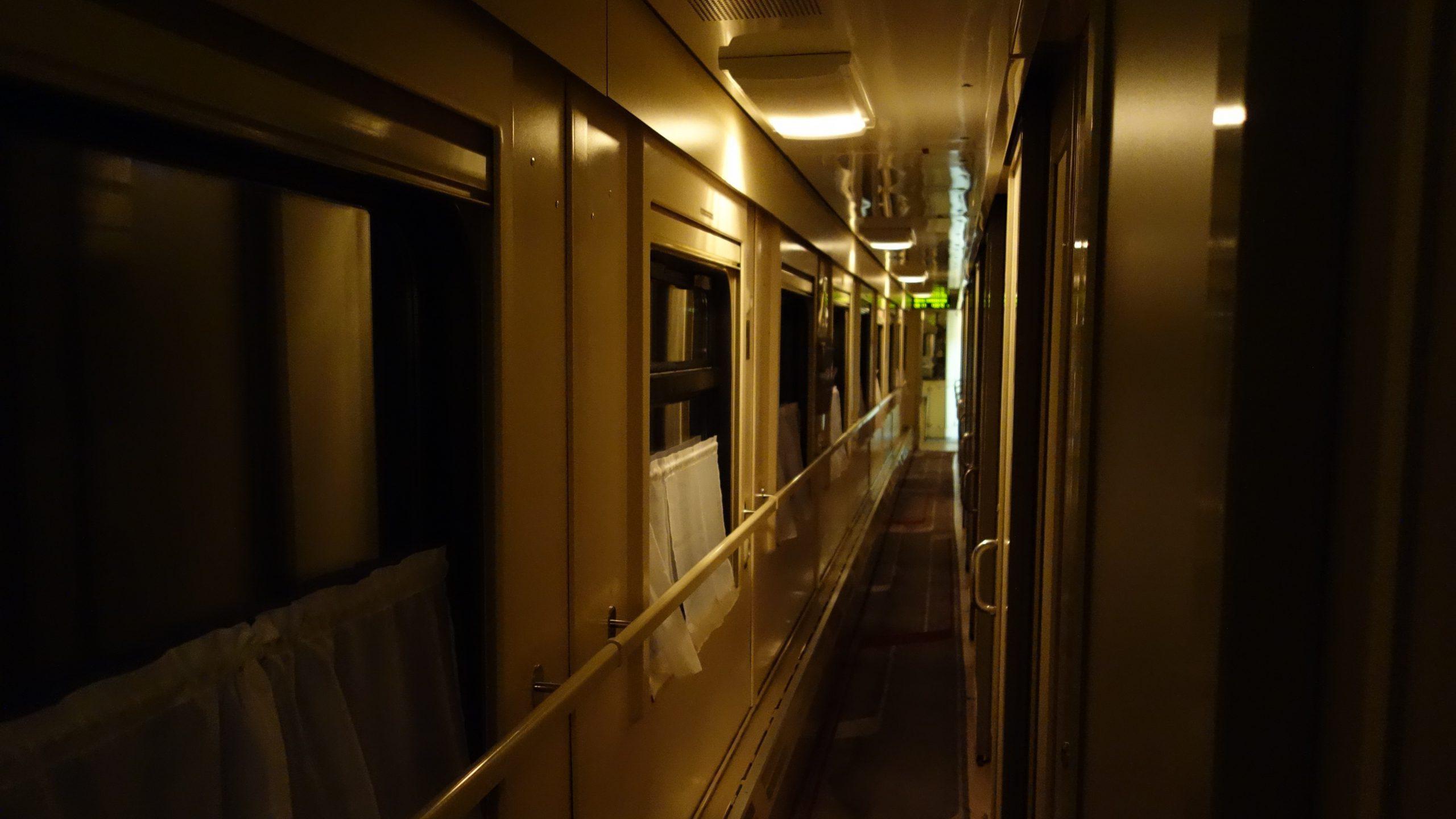 ハバロフスク州 夜行列車青年号乗車記