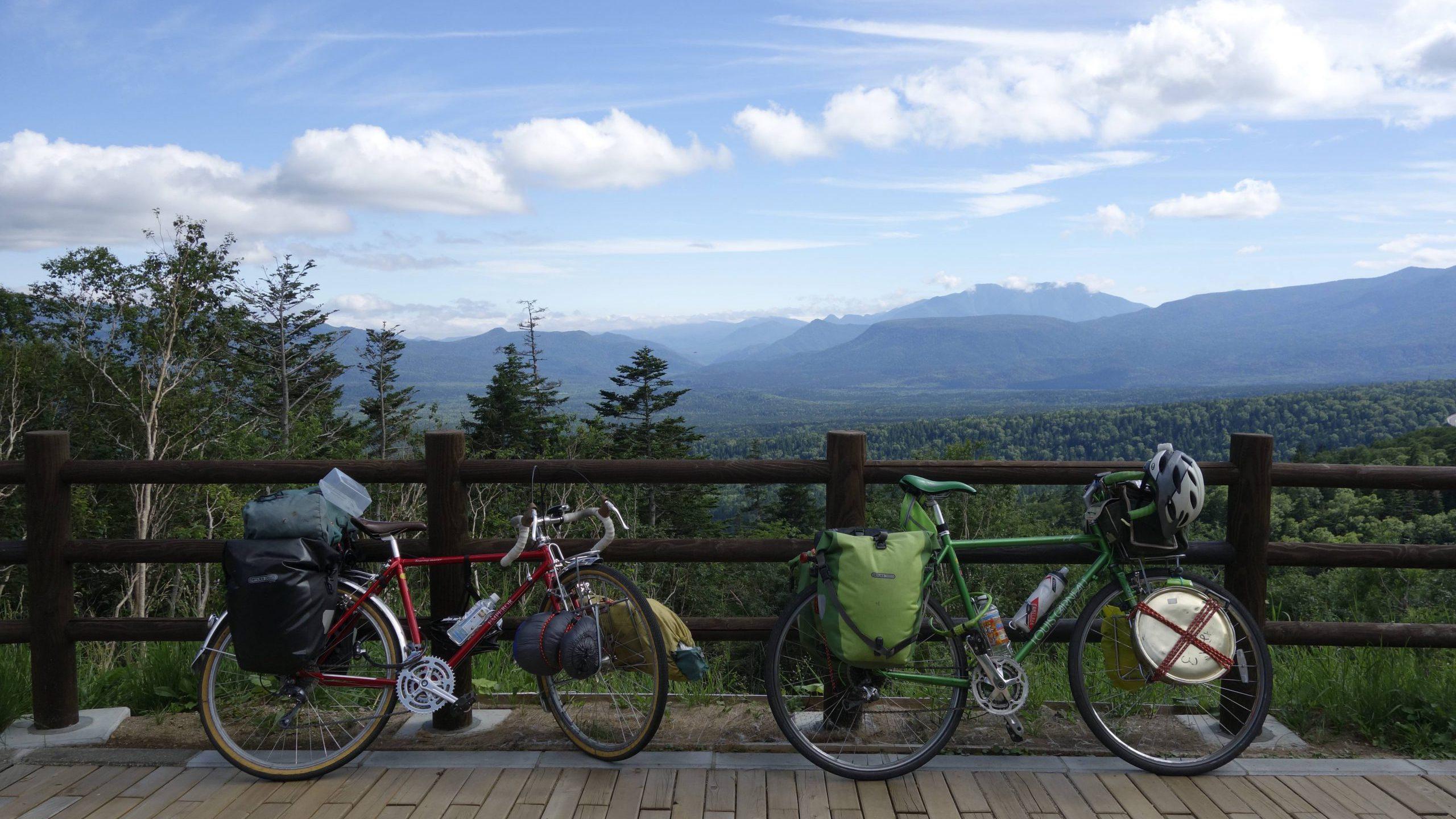 Cycling in Hokkaido