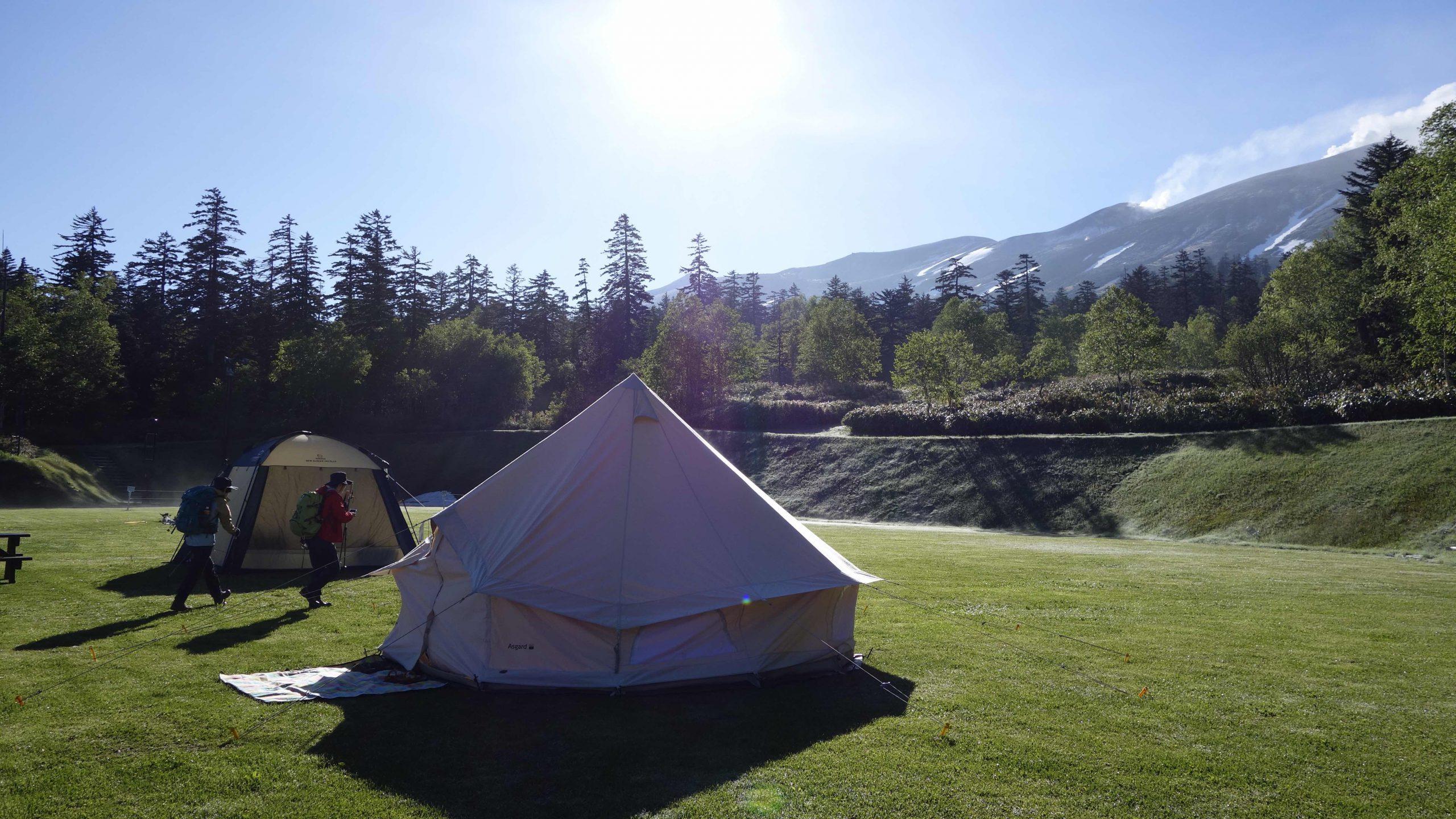 Camping in Hokkaido