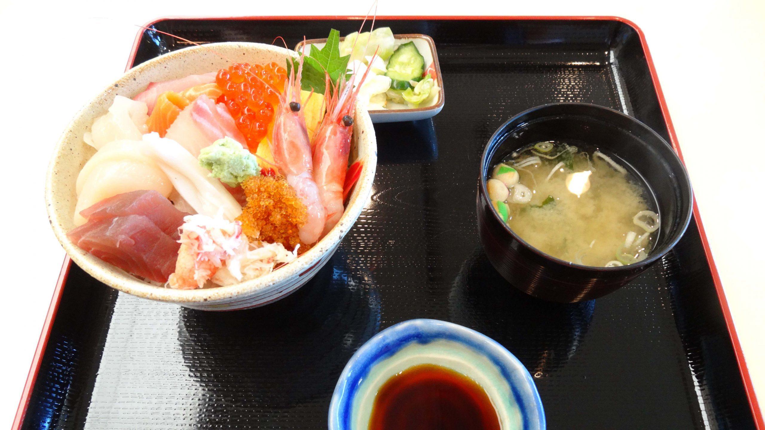 Seafood & Sushi in Hokkaido
